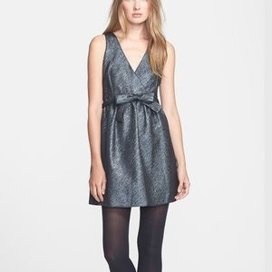Parker Claudette Woven Fit & Flare Dress